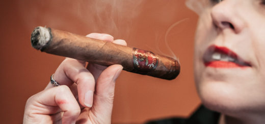 Savouring the first draws on a Hiram & Solomon Shriner Toro cigar