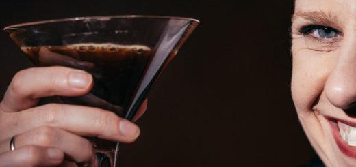 a tequila espresso martini
