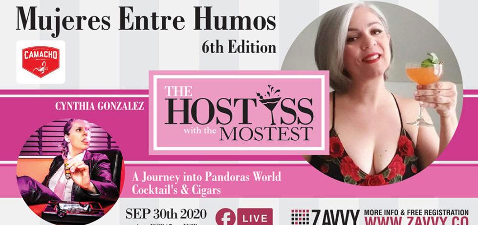Cynthia Gonzalez interviews Pandora on the Hostess with the Mostest