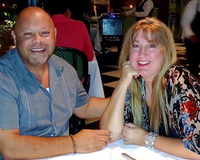 Al and Melissa Roman from The Good Cigar
