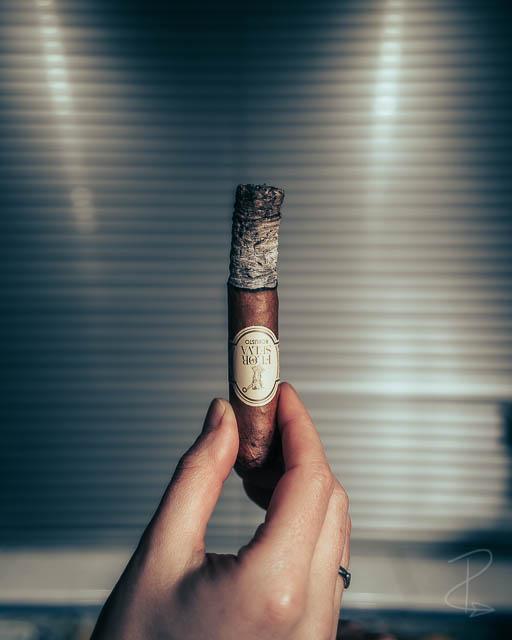 perfect ash from the Flor de Selva robusto cigar