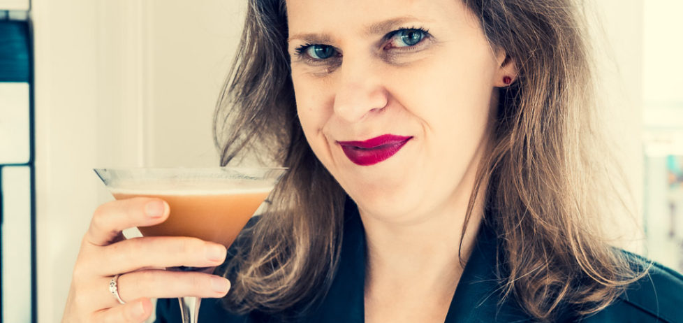 Toasting you with a Diabolique Cocktail