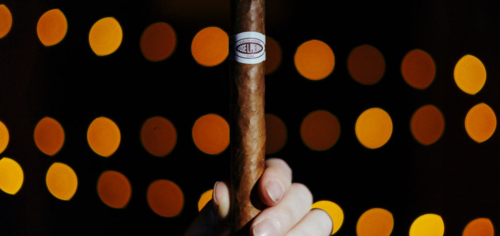 The Jose L Piedra Cazadores cigar in all its glory