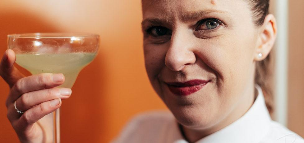 The Amante Picante cocktail