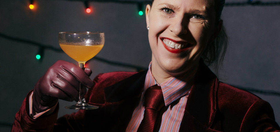 Toasting you with a Pegu Club Cocktail