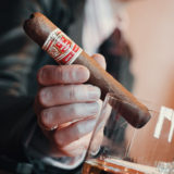 The Hoyo de Monterrey Le Hoyo Rio Seco cigar and 7 year old Abuelo rum