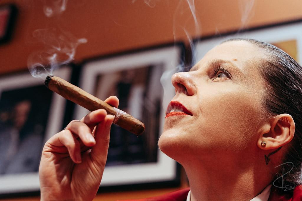 The opening draws on a Sancho Panza Non Plus Petit Corona cigar