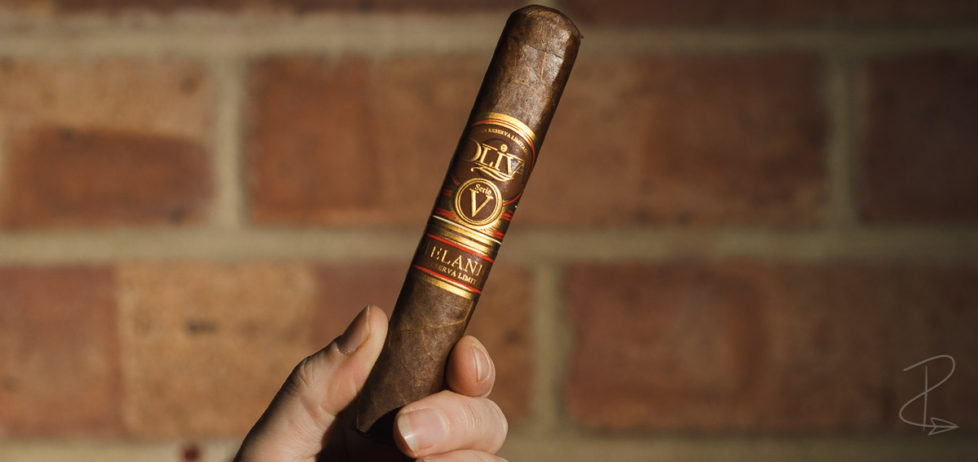 The beautiful looking Oliva Serie V Melanio Robusto Cigar