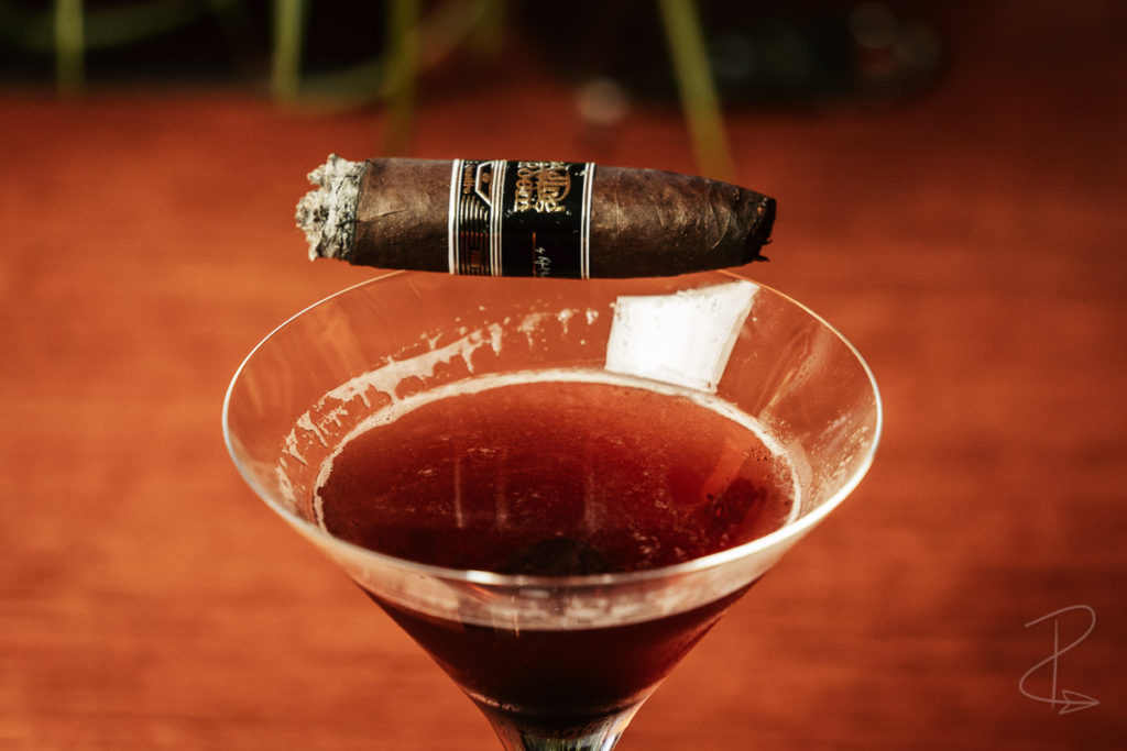 The perfectly even burn on the Aging Room Quattro Nicaraguan Maestro cigar